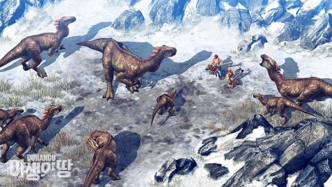Durango : MMO, dinosaures et survie en milieu préhistorique sur mobiles