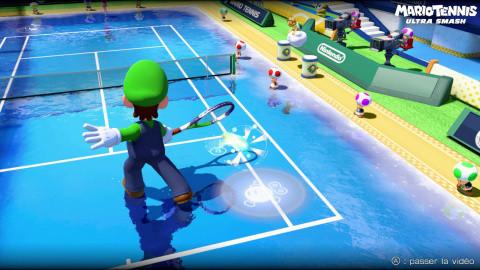 Mario Tennis Ultra Smash : L'erreur de parcours