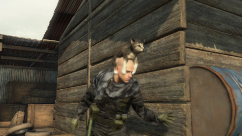 Metal Gear Online porte le chat-peau