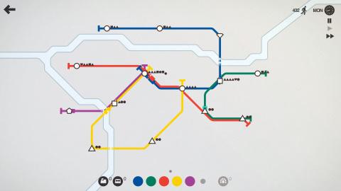 Mini Metro – Quand les transports deviennent agréables