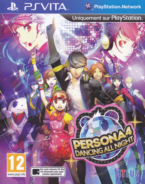 Persona 4 : Dancing All Night sur Vita
