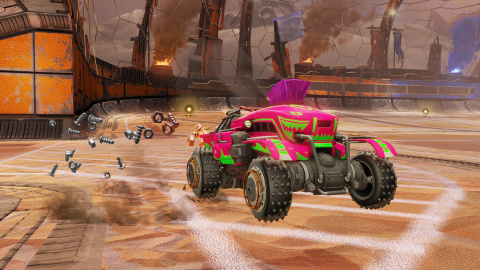 Rocket League : Un DLC Post-Apo pour décembre