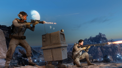 Jaquette de Star Wars Battlefront : 10 minutes de gameplay sur le sympathique mode Course aux Droïdes