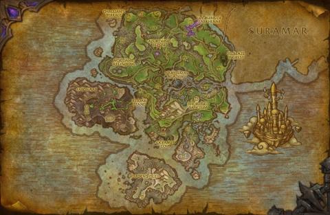 WoW : Legion déjà dataminée - Zoom sur les nouvelles cartes et montures !