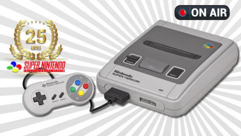 En live : Les 25 ans de la Super Nintendo : le stream-marathon avec Anagund !
