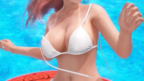 Dead or Alive Xtreme 3 : traces de bronzage et bikinis qui se détachent, mais uniquement sur PS4