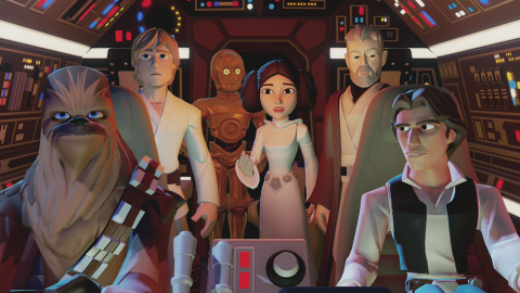 Jaquette de Disney Infinity 3.0 - Pack Aventure Star Wars Rise Against the Empire : La trilogie originale en Force ?