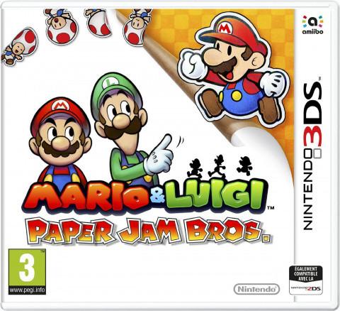 Mario & Luigi Paper Jam Bros. sur 3DS