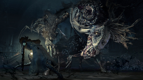 Jaquette de Bloodborne : The Old Hunters, le cauchemar continue sur PlayStation