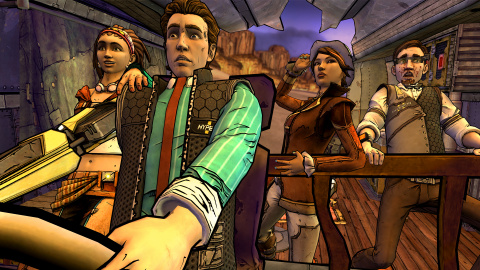 Tales From The Borderlands : Un tour sur Pandore... en Gaming Live