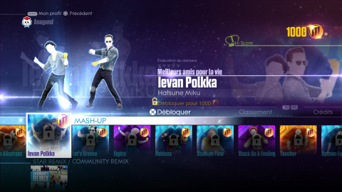 Jaquette de Just Dance 2016 - Petit tour de playlist