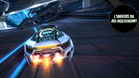 L'univers du jeu indépendant - Distance, les courses automobiles futuristes