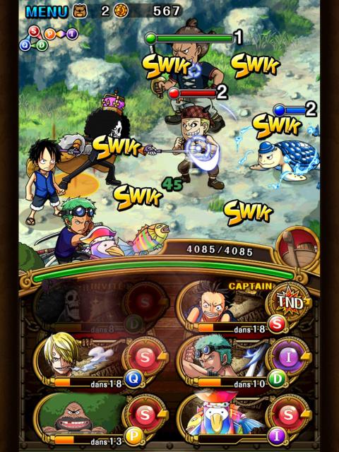 One Piece Treasure Cruise : Bandai Namco lance l'événement Histoire de One Piece