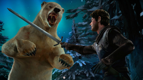 Game of Thrones : Episode 6 - The Ice Dragon sur ONE