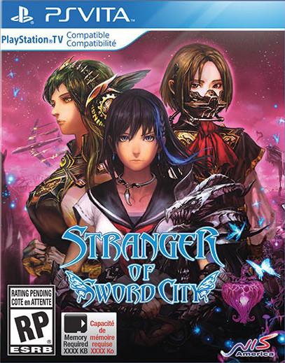 Stranger of Sword City sur Vita