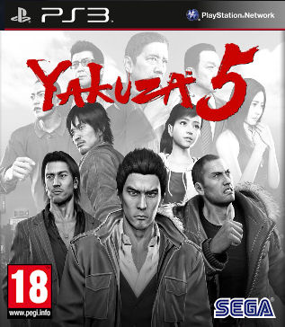 Yakuza 5 sur PS3