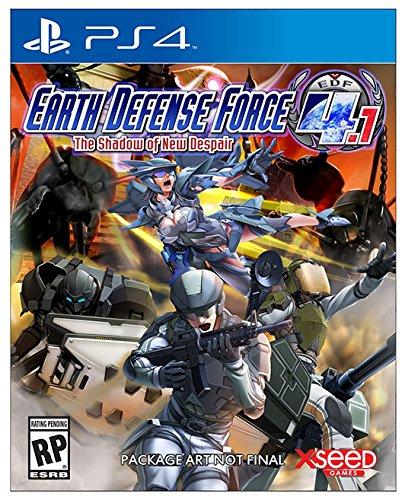 Earth Defense Force 4.1 Shadow of New Despair sur PS4
