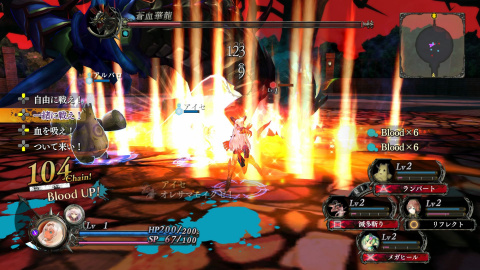 Nights of Azure : Nos impressions sur cet action-RPG en version japonaise