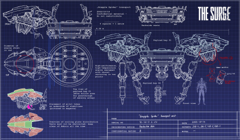 On a revu The Surge, l'action RPG qui roule des mécaniques - E3 2016