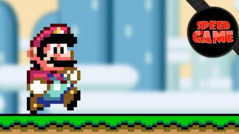 Speed Game - Un hack de Super Mario World terminé en moins de 15 minutes