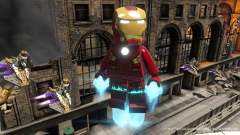 """Jaquette de LEGO Marvel Avengers - Un sacré """"briques""""-à-brac"""