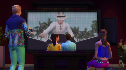 """""""Comme au Cinéma"""" : Le kit d'objets pour Les Sims 4 en approche"""