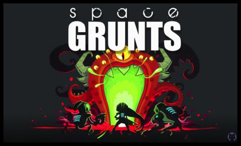 Jaquette de Space Grunts, une présentation en 1 minute