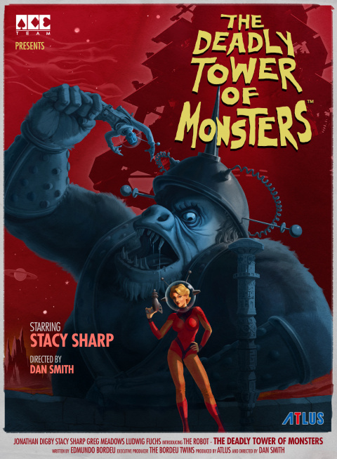 The Deadly Tower of Monsters sur PS4