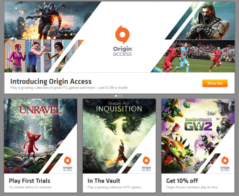 [MàJ] Origin Access : EA prépare un service à 4,99 $ sur PC