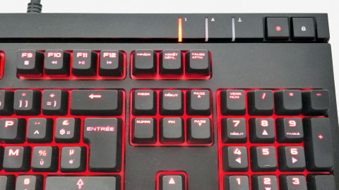 Test Corsair STRAFE : Simple, compact, efficace