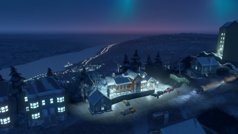 Cities Skylines présente Snowfall, sa nouvelle extension hivernale