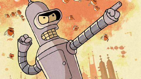 Jaquette de Futurama Game of Drones : un match-3 narratif