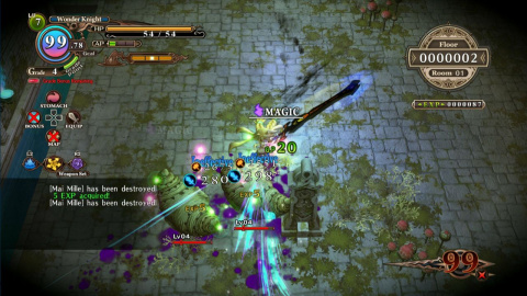 The Witch and the Hundred Knight Revival en visuel