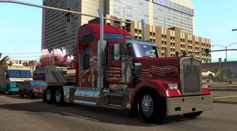 Jaquette de American Truck Simulator : On the Road Again ! sur PC