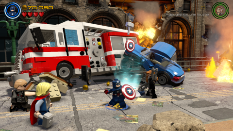 Warner Bros annonce la LEGO Marvel Collection