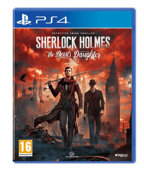 Sherlock Holmes : The Devil's Daughter - Une date de sortie et une jaquette