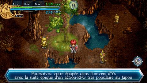 Ys Chronicles II disponible sur mobiles