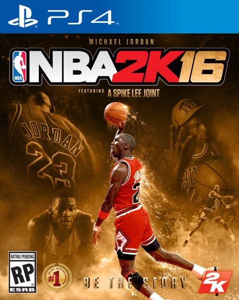 NBA 2K16 Édition spéciale Michael Jordan sur PS4