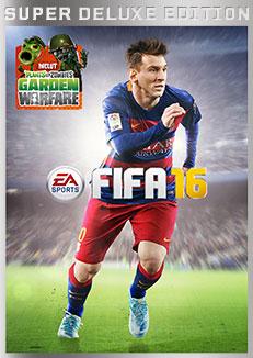 FIFA 16 Edition Super Deluxe sur PS4