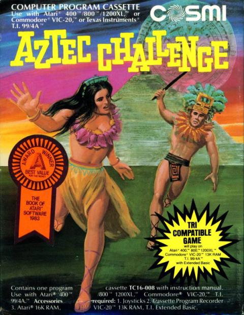 Aztec Challenge sur C64