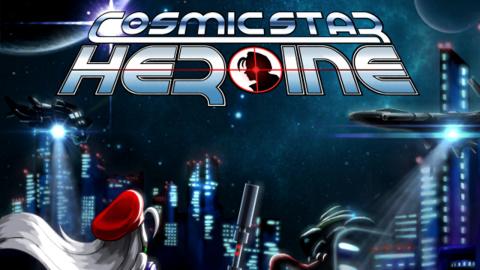 Cosmic Star Heroine sur Vita