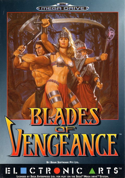 Blades of Vengeance sur MD