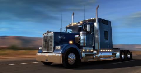 Le Kenworth W900 débarque dans American Truck Simulator