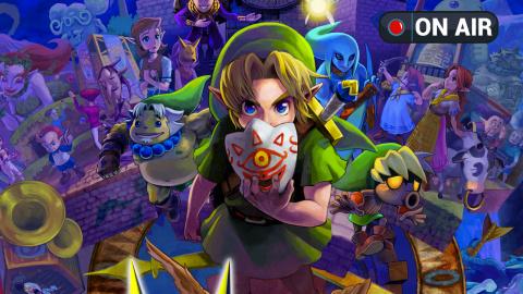 [LIVE] Zelda : Majora's Mask avec daFrans