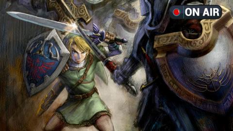 Live en ce moment, on redécouvre Zelda: Twilight Princess avec Epyon !