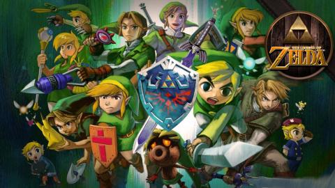 Jaquette de The Legend of Zelda : La vidéo hommage pour les 30 ans