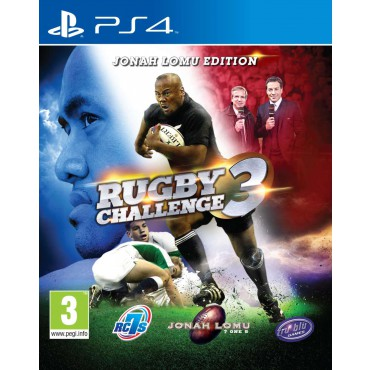 Jonah Lomu Rugby Challenge 3 sur PS4