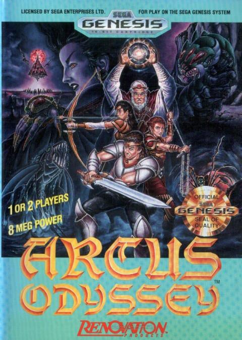 Arcus Odyssey sur MD