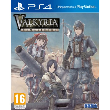Valkyria Chronicles Remastered sur PS4
