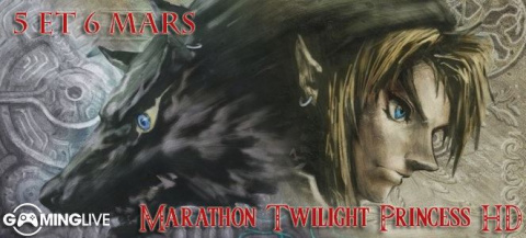 Suivez le marathon The Legend of Zelda : Twilight Princess HD en direct sur Gaming Live